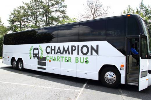Champion Charter Bus San Francisco