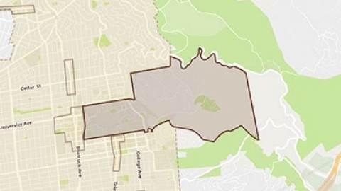 Berkeley Area Maps Directions